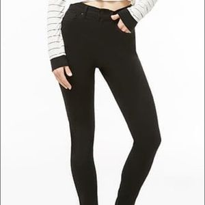 Forever 21 High waisted black jeans